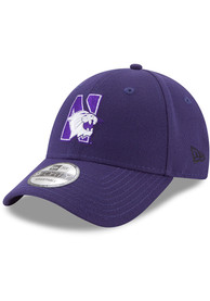 New Era Northwestern Wildcats The League 9FORTY Adjustable Hat - Purple