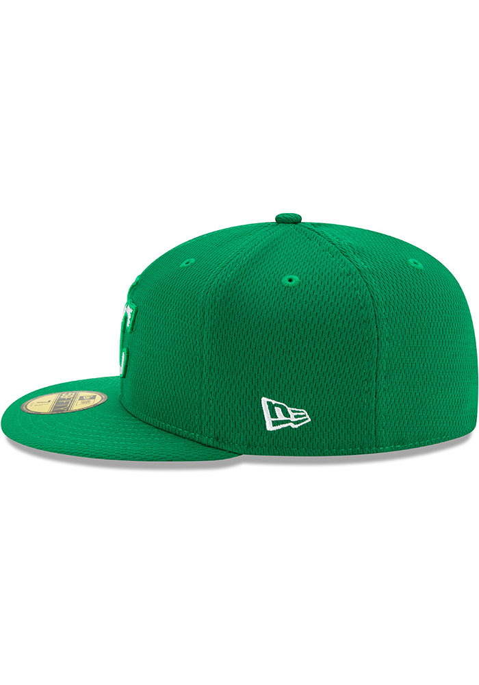 New Era Kansas City Royals Mens Green St. Pattys Day 2020 59FIFTY Fitted Hat - Image 4