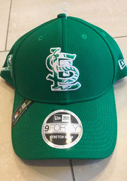 New Era St Louis Cardinals St. Pattys Day 2020 Stretch 9FORTY Adjustable Hat - Green
