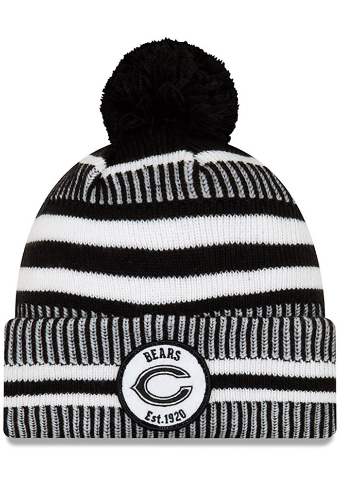Chicago Bears New Era NFL 2019 Home Sport Knit - Black