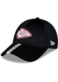 Kansas City Chiefs Youth New Era 2020 OTA Jr Stretch Snap 9FORTY Adjustable Hat - Black