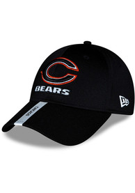 Chicago Bears New Era 2020 OTA Stretch Snap 9FORTY Adjustable Hat - Black