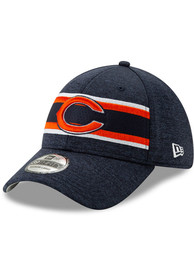 Chicago Bears New Era 2019 Thanksgiving 39THIRTY Flex Hat - Navy Blue
