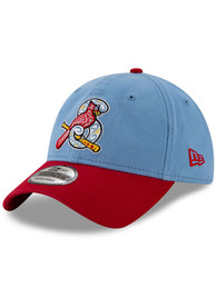 New Era Springfield Cardinals Copa de la Diversion 9TWENTY Adjustable Hat - Light Blue
