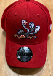 New Era Reading Fightin Phils The League 9FORTY Adjustable Hat - Red