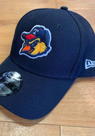 New Era Toledo Mud Hens The League 9FORTY Adjustable Hat - Navy Blue
