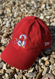 New Era Springfield Cardinals Core Classic 9TWENTY Adjustable Hat - Red