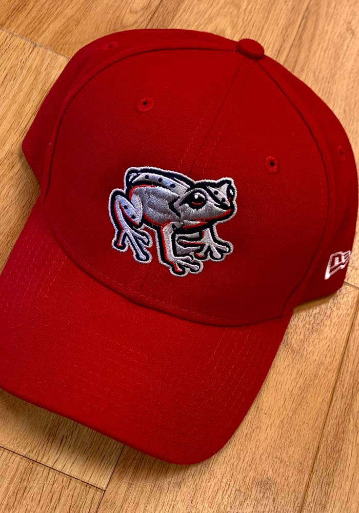 New Era Lehigh Valley Ironpigs Copa The League 9FORTY Adjustable Hat - Red - Image 1