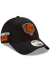 New Era Chicago Bears NFL20 Draft SS 9FORTY Adjustable Hat - Black