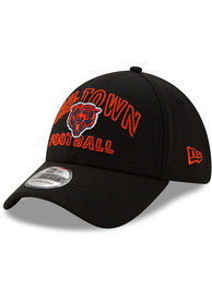 New Era Chicago Bears Black NFL20 Draft Alt 39THIRTY Flex Hat