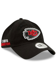 New Era Kansas City Chiefs NFL20 Draft Unstructured Adjustable Hat - Black