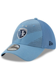 New Era Sporting Kansas City Light Blue 2020 Jersey Hook 39THIRTY Flex Hat