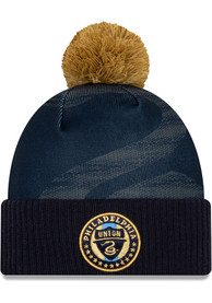 New Era Philadelphia Union Blue 2020 Jersey Hook Cuff Knit Knit Hat