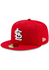 St Louis Cardinals Youth New Era AC Game JR 59FIFTY Fitted Hat - Red