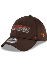 Cleveland Browns New Era NFL20 Official Training 39THIRTY Flex Hat - Brown