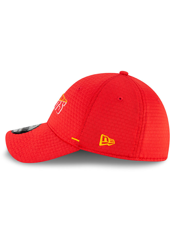 New Era Kansas City Chiefs Red NFL20 Official Training JR 39THIRTY Youth Flex Hat - Image 4