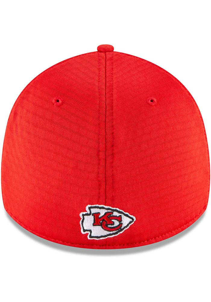 New Era Kansas City Chiefs Red NFL20 Official Training JR 39THIRTY Youth Flex Hat - Image 5