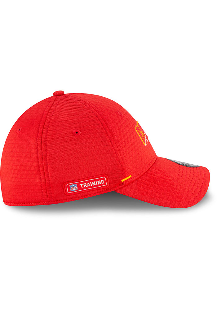 New Era Kansas City Chiefs Red NFL20 Official Training JR 39THIRTY Youth Flex Hat - Image 6