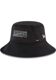 Kansas City Chiefs New Era NFL20 Training Bucket Hat - Black