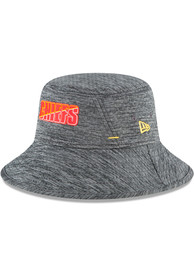 Kansas City Chiefs Youth New Era NFL20 Training JR Bucket Hat - Grey