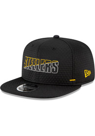 Pittsburgh Steelers New Era NFL20 Official Training 9FIFTY Snapback - Black