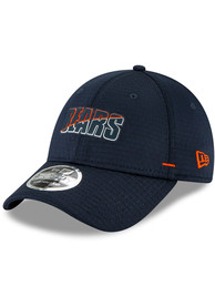 Chicago Bears New Era NFL20 Official Training Stretch Snap 9FORTY Adjustable Hat - Navy Blue