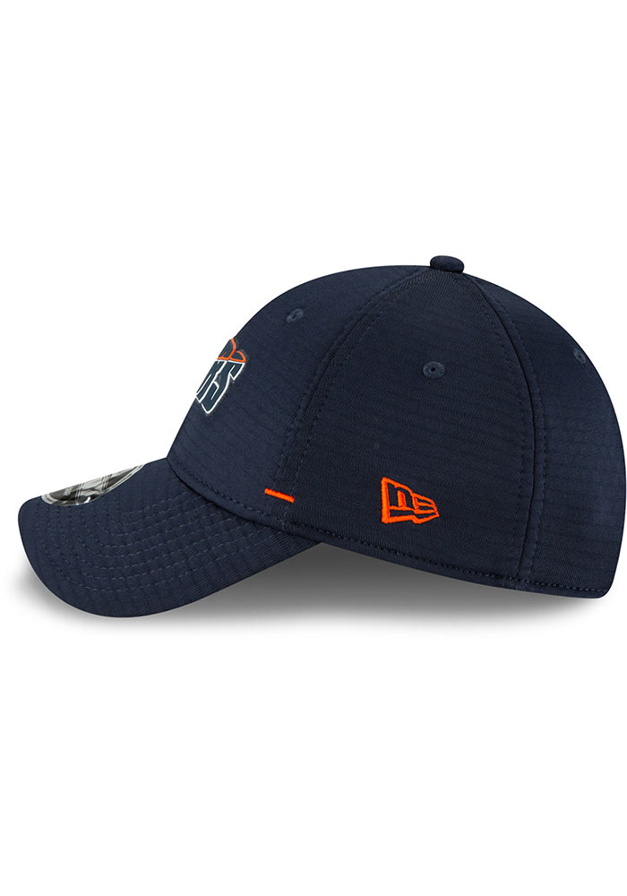 New Era Chicago Bears NFL20 Official Training Stretch Snap 9FORTY Adjustable Hat - Navy Blue - Image 4