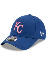 Kansas City Royals New Era 2021 Mothers Day SS 9FORTY Adjustable Hat - Blue