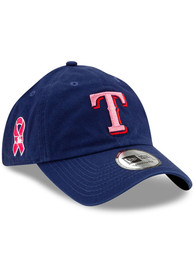 Texas Rangers New Era 2021 Mothers Day Casual Classic Adjustable Hat - Blue