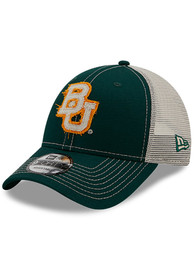 Baylor Bears New Era Rugged 9FORTY Adjustable Hat - Green
