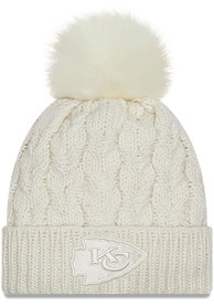 Kansas City Chiefs Womens New Era W Flurry Knit - White