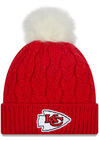 Kansas City Chiefs Womens New Era W Flurry Knit - Red