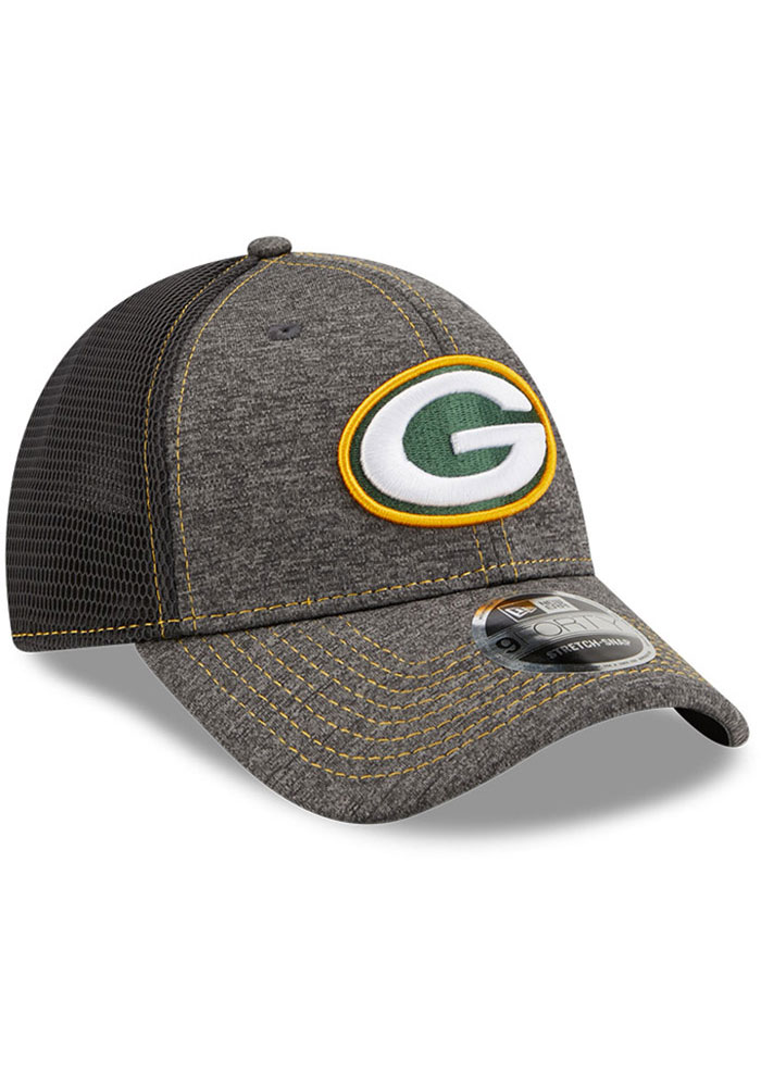 New Era Green Bay Packers STH Neo 9FORTY Adjustable Hat - Grey - Image 2