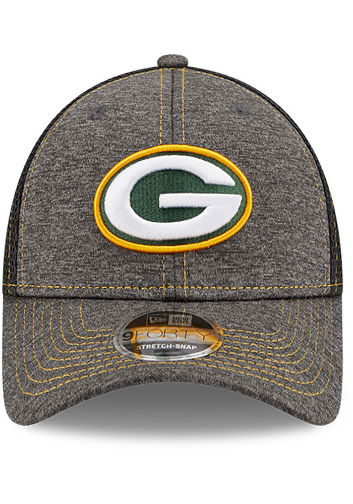 New Era Green Bay Packers STH Neo 9FORTY Adjustable Hat - Grey - Image 3