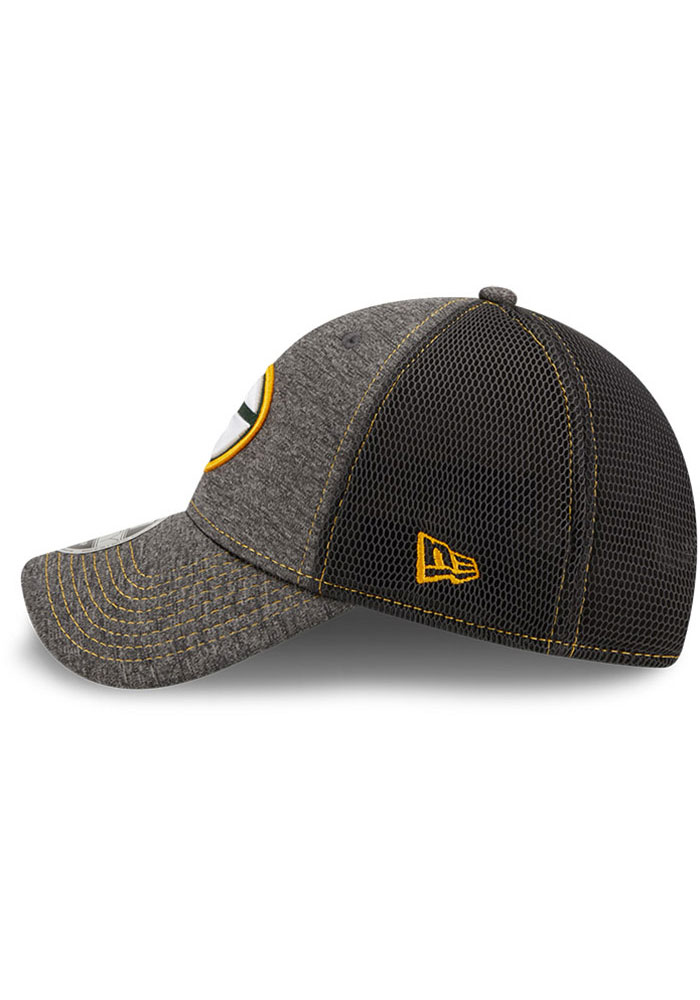 New Era Green Bay Packers STH Neo 9FORTY Adjustable Hat - Grey - Image 4