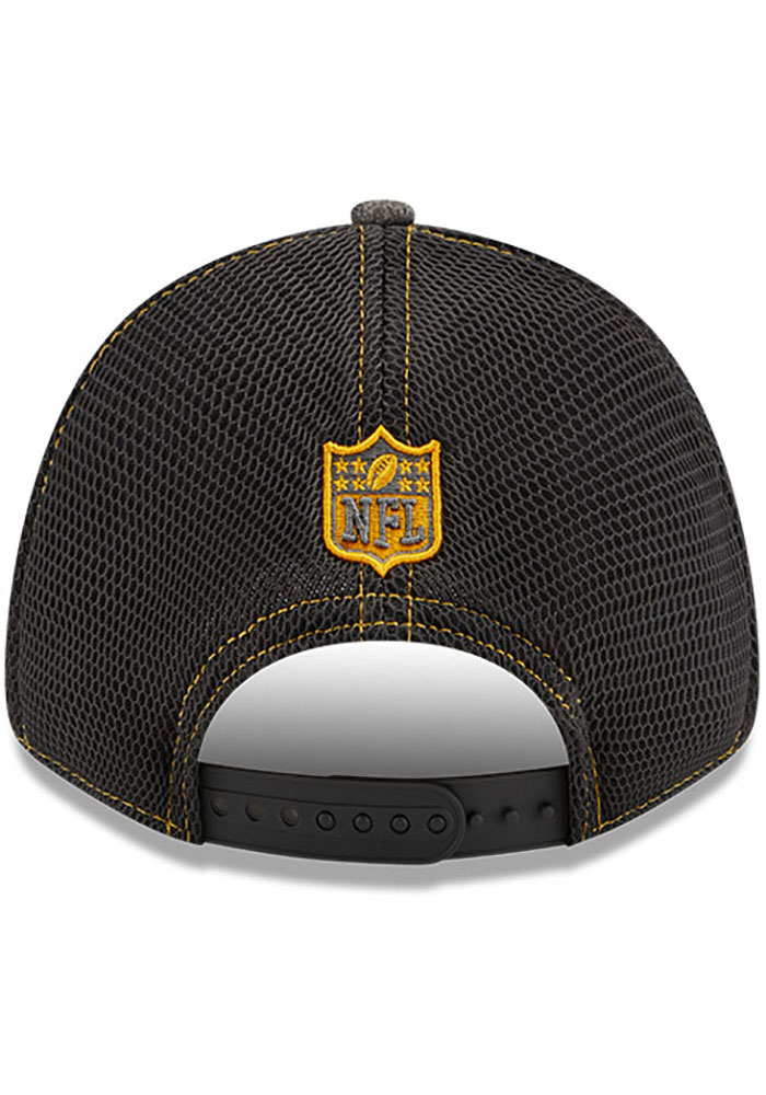New Era Green Bay Packers STH Neo 9FORTY Adjustable Hat - Grey - Image 5