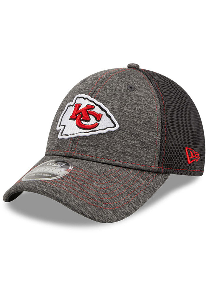 New Era Kansas City Chiefs STH Neo 9FORTY Adjustable Hat - Grey - Image 1