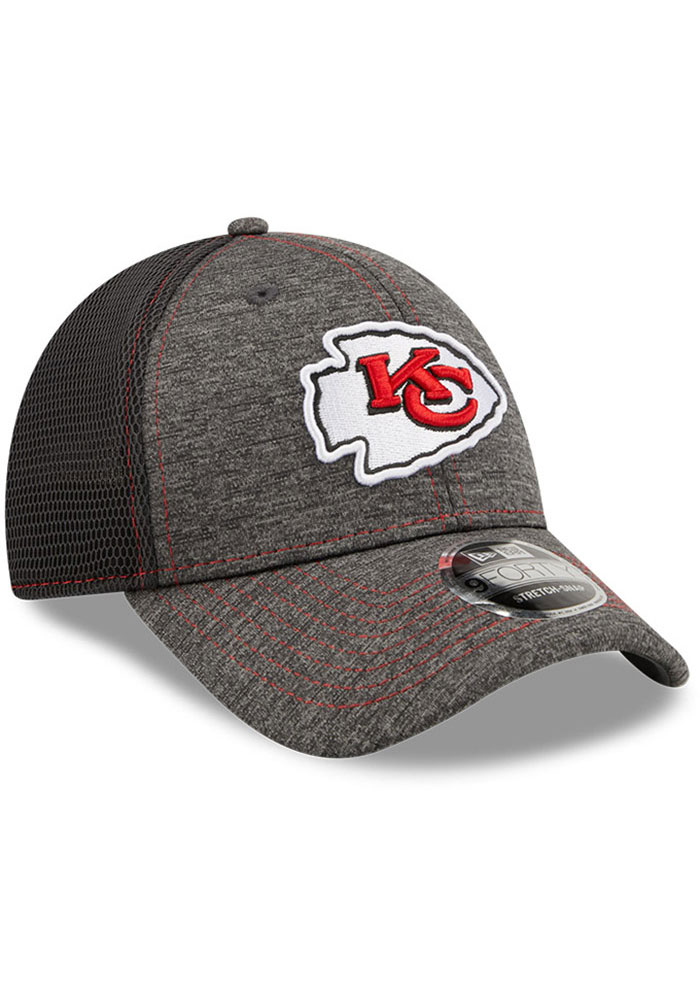 New Era Kansas City Chiefs STH Neo 9FORTY Adjustable Hat - Grey - Image 2