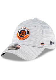 Chicago Bears New Era NFL20 Official Sideline Road 39THIRTY Flex Hat - Grey