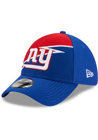 New York Giants New Era Bolt 39THIRTY Flex Hat - Blue
