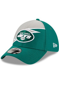 New York Jets New Era Bolt 39THIRTY Flex Hat - Green