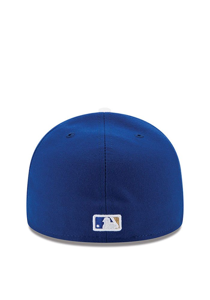 New Era Kansas City Royals Mens Blue Game AC 59FIFTY Fitted Hat - Image 4