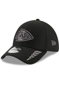 Kansas City Chiefs New Era Rush 39THIRTY Flex Hat - Black