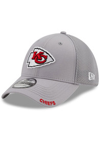 Kansas City Chiefs New Era Classic Neo 39THIRTY Flex Hat - Grey