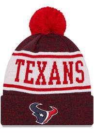 Houston Texans New Era M KNITBANNER B3 Knit - Navy Blue