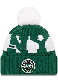 New York Jets New Era 2020 Official Sport Knit - Green