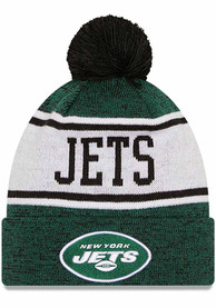 New York Jets New Era M KNITBANNER B3 Knit - Green
