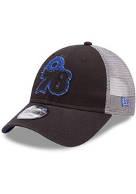 Philadelphia 76ers New Era Rugged 9FORTY Adjustable Hat - Black