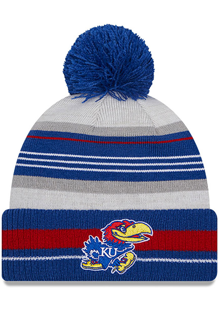 Kansas Jayhawks New Era Grayed Knit - Grey