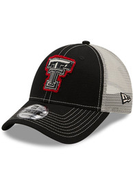 Texas Tech Red Raiders Youth New Era JR Rugged 9FORTY Adjustable Hat - Black